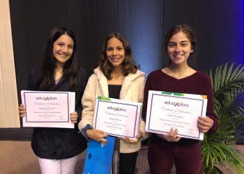 Alumnas de Primeros puestos en Stanford Talent Search - Colegio privado Villa Caritas
